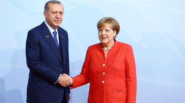 Merkel Erdoğan'ı davet etti