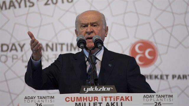 MHP lideri Bahçeli temalı bölge mitingleri yapacak