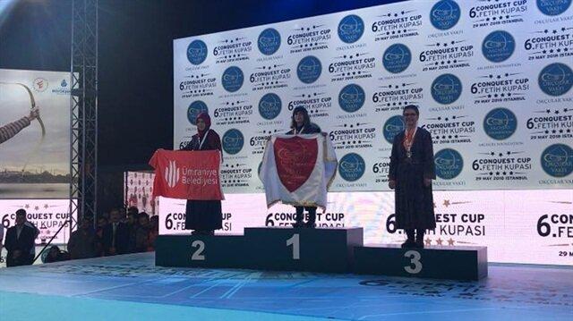 Ümraniye Belediyesi okçulukta dünya ikincisi oldu