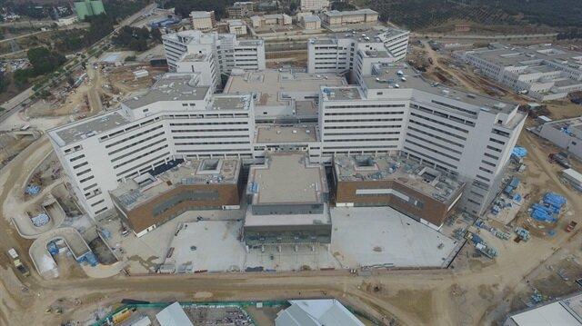 Ankara Şehir Hastanesi: Ankara Şehir Hastanesi Bilkent Açılış Için Gün Sayıyor