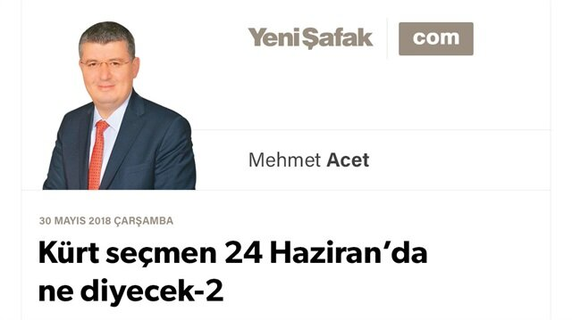 Kürt seçmen 24 Haziran'da ne diyecek-2