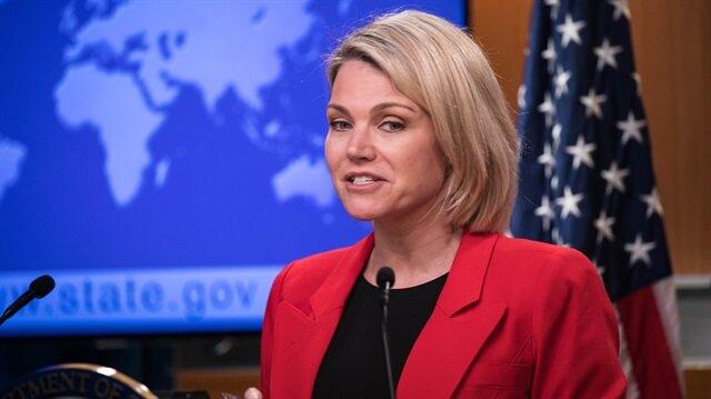 State Department spokesperson Heather Nauert