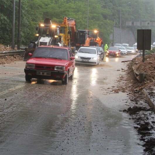 Metrekareye 82 kilo yağış düştü