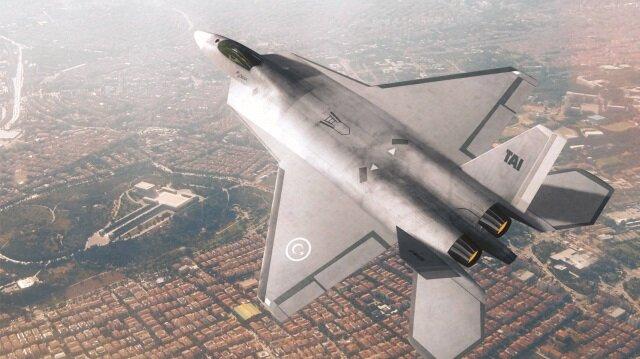 Hedef insansız milli savaş uçağı