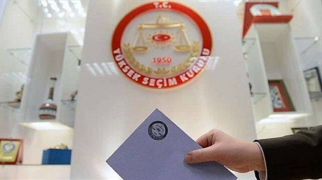 Kesin aday listeleri Resmi Gazete'de yayımlandı