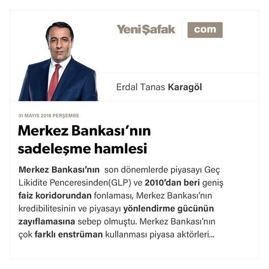 Merkez Bankası'nın sadeleşme hamlesi