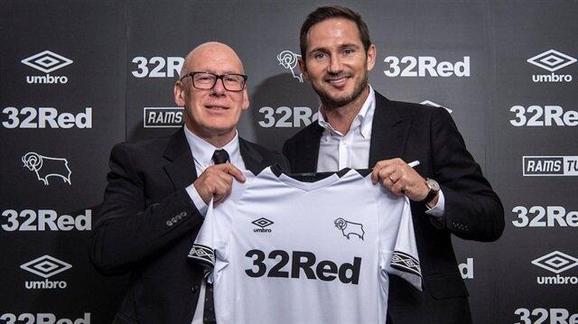 Frank Lampard teknik direktör oldu