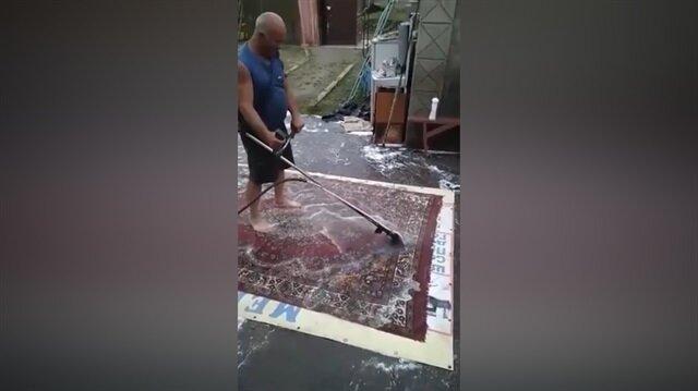 Halı yıkamada çığır açan adam