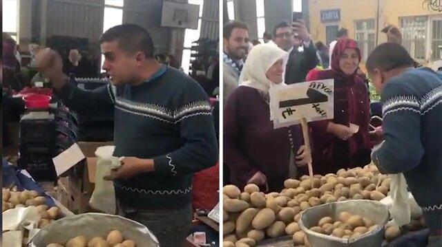 Pazarcıdan rekor kıran video 'Tayyip Baba'dan gerisi yalan'