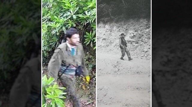 Teröristlerin fotokapana yakalanmasının ardından operasyon başlatıldı.