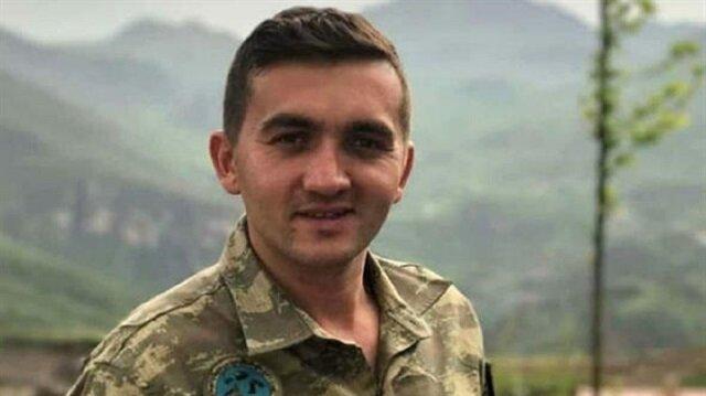 Giresun Eynesilli Uzman Çavuş Hakan Ergin (28) havan saldırısında şehit oldu