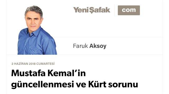 Mustafa Kemal'in güncellenmesi ve Kürt sorunu