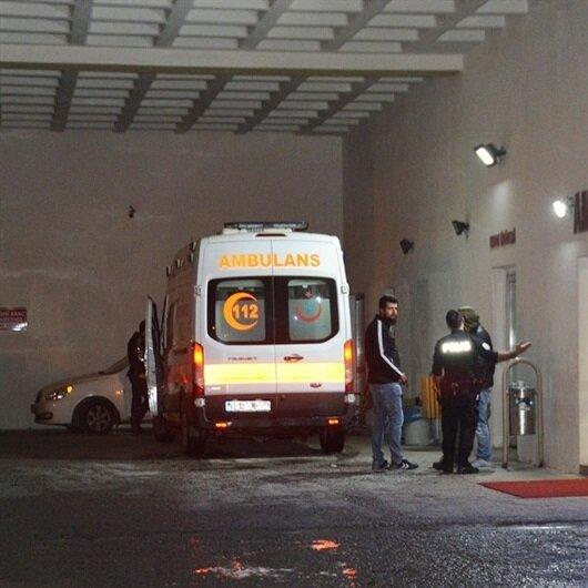 Bitlis'te polis aracı devrildi: 16 yaralı