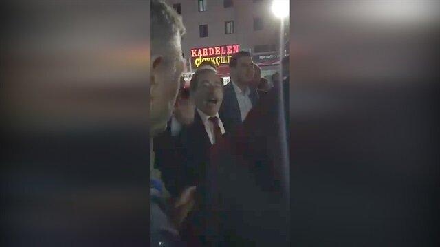 Abdüllatif Şener vatandaşı tehdit etti!