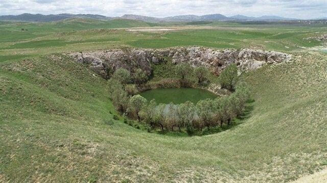 Sivas'taki gizemli göller, keşfedilmeyi bekliyor.