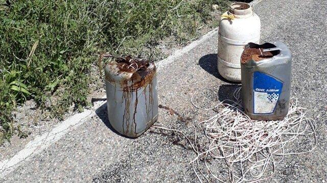 200 kilogram amonyum nitratla güçlendirilmiş ve patlatılmaya hazır el yapımı patlayıcı, güvenlik güçlerince imha edildi.