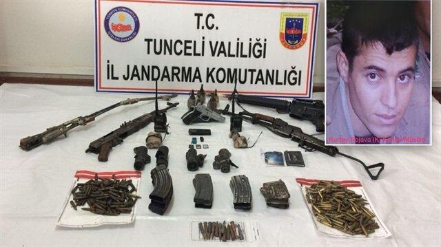 Tunceli'de PKK sorumlusu öldürüldü