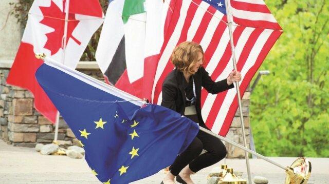 G7 üyesi altı ülkeden ABDye: Birkaç gün içinde ticaret savaşı başlayabilir 58