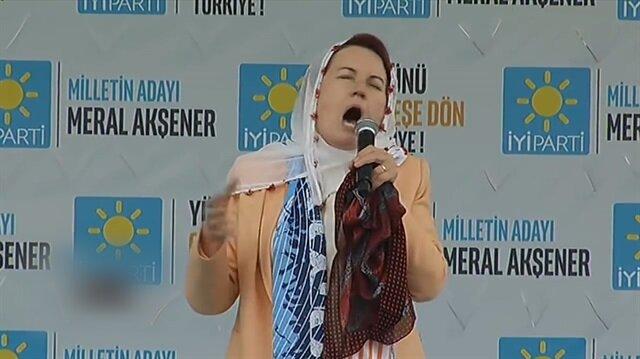 Meral Akşener'in hareketleri sosyal medyayı salladı