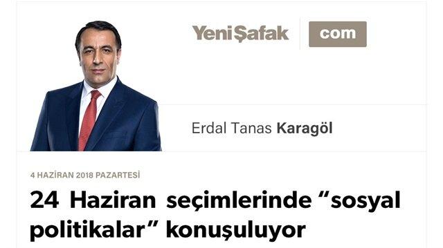 """24 Haziran seçimlerinde """"sosyal politikalar"""" konuşuluyor"""