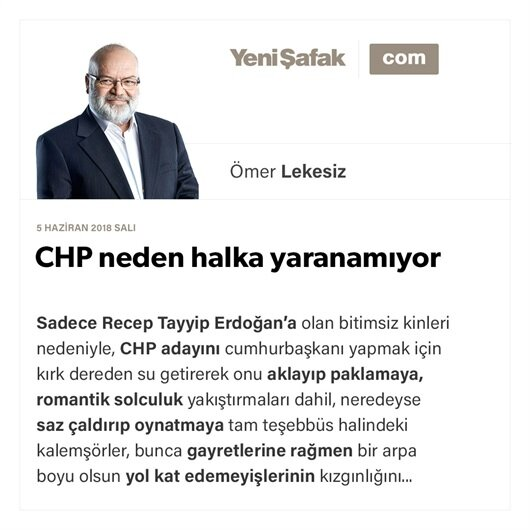 CHP neden halka yaranamıyor