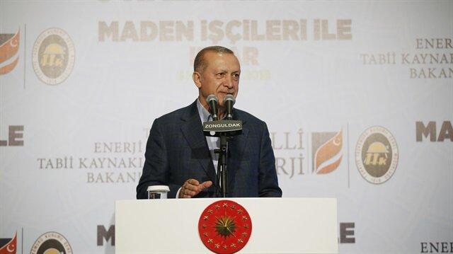 Cumhurbaşkanı Erdoğan, Zonguldak'ta düzenlenen iftar programında konuştu.