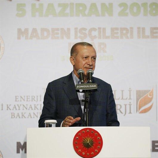 Cumhurbaşkanı Erdoğan'dan milli enerji açıklaması