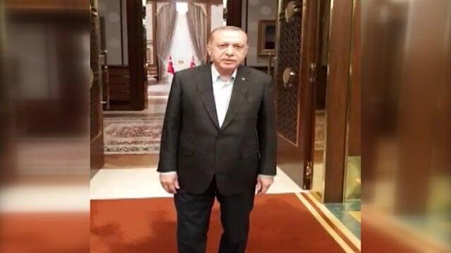 Erdoğan, sahurdan önce neler yaptığını anlattı