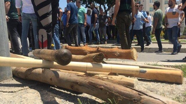 Adana'da 'güzergah' kavgası: 2 yaralı