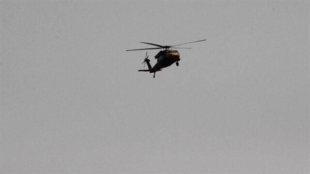 Kilis semalarındaki helikopter trafiği merak uyandırdı.