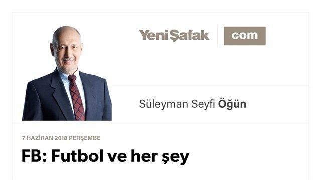 FB: Futbol ve her şey