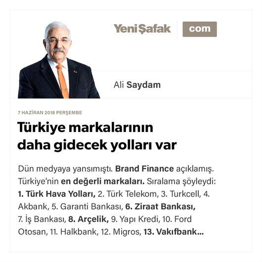 Türkiye markalarının daha gidecek yolları var