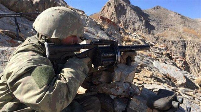 Ağrı'da operasyon: 5 terörist öldürüldü