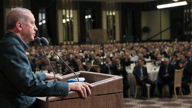 Cumhurbaşkanı Erdoğan: Yalan ve iftirayla başarı elde edilmez