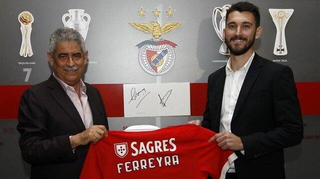 Benfica Ferreyra'yı açıkladı