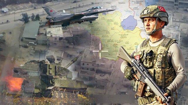 Güvenlik güçleri, Kandil'e doğru karadan emin adımlarla ilerlemesini sürdürüyor.