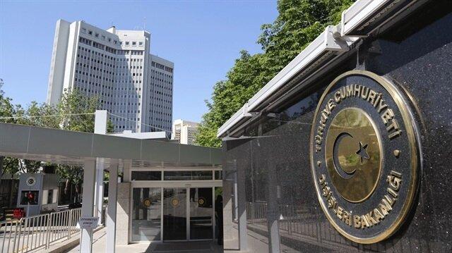 Dışişleri Bakanlığı'ndan Avusturya'ya tepki