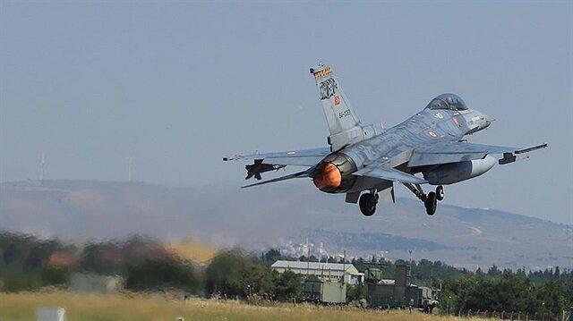 Kandil'deki PKK hedefleri vuruldu