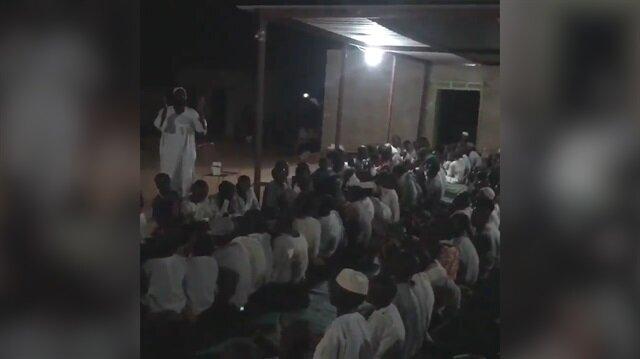 Sudanlı yetimlerin Erdoğan duası kamerada