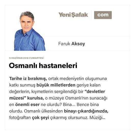 Osmanlı hastaneleri