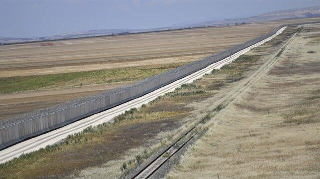 564 kilometrelik güvenlik duvar tamamladı