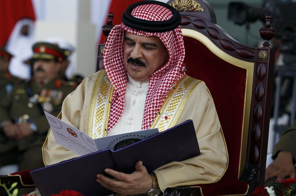 Bahreyn Kralı Hamed bin İsa, 1999'dan bu yana ülkeyi yönetiyor.