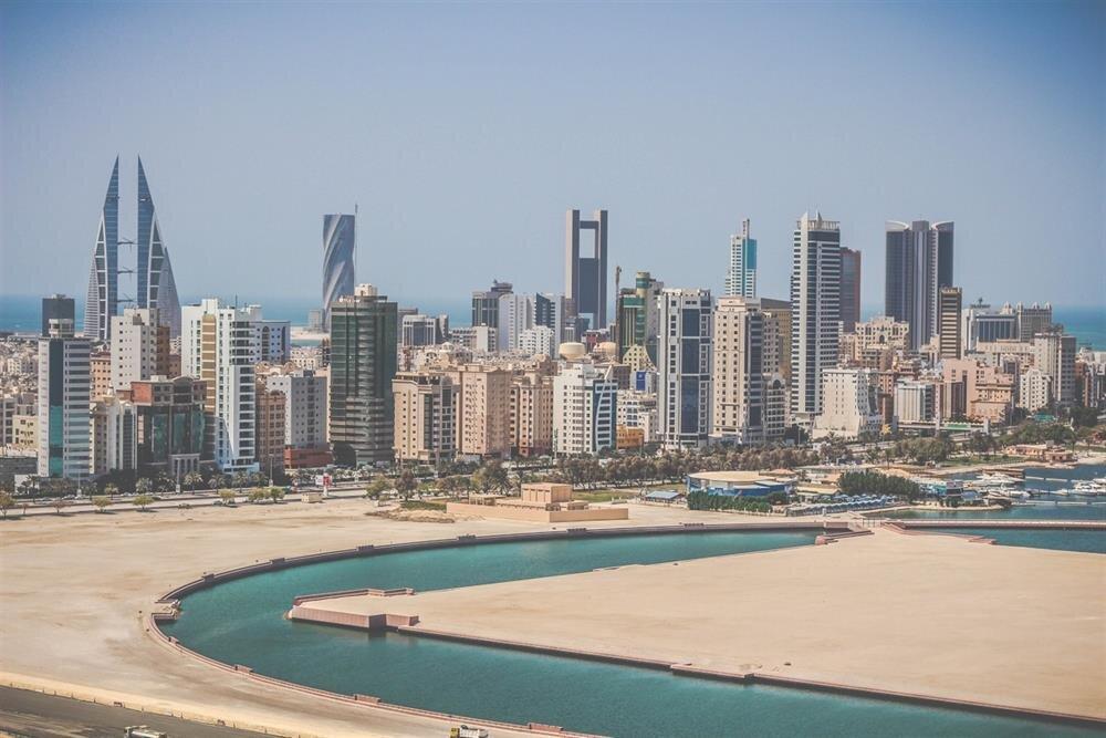 Körfez'in küçük ada ülkesi Bahreyn'in başkenti Manama.