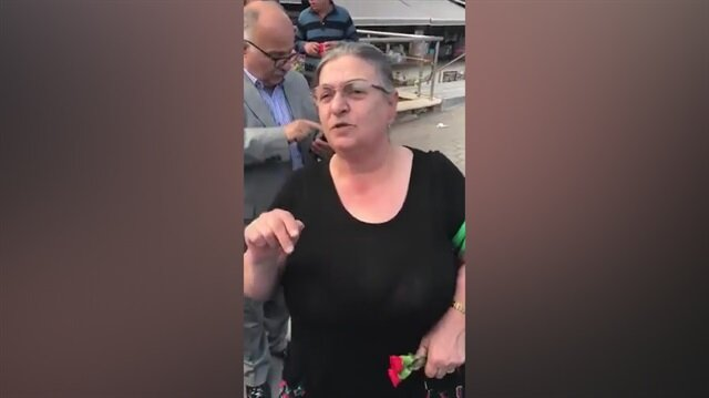 Muhalefeti 2 dakikada bitiren Karadenizli kadın!