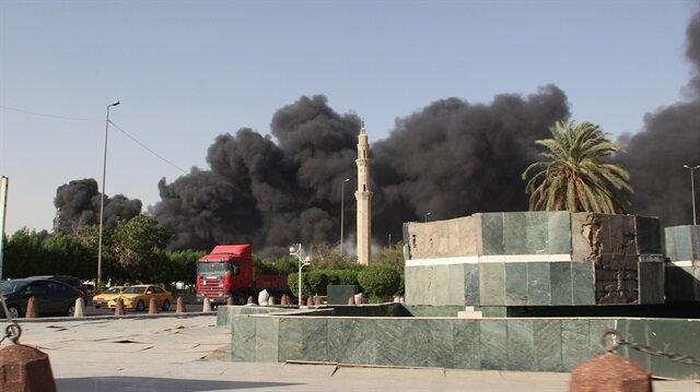 Irak'ta yeni kaos: Oy pusulalarının olduğu depoda yangın çıktı