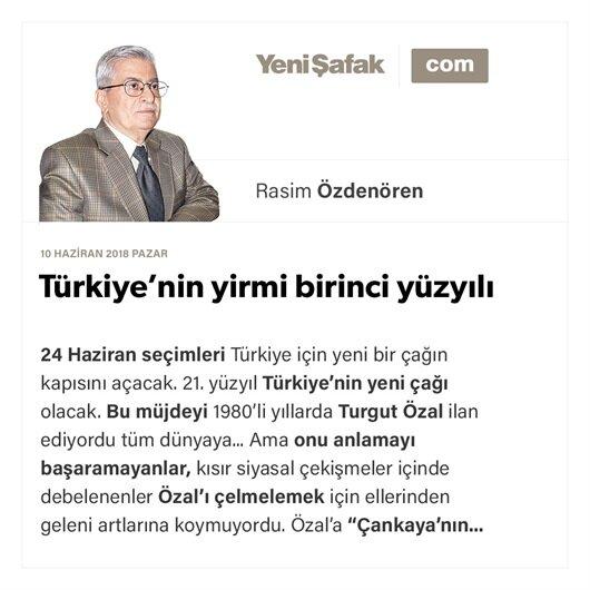 Türkiye'nin yirmi birinci yüzyılı