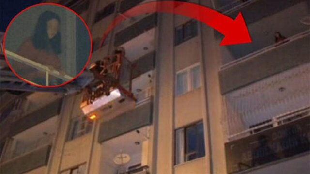 Kahramanmaraş'ta genç kız böyle kurtarıldı
