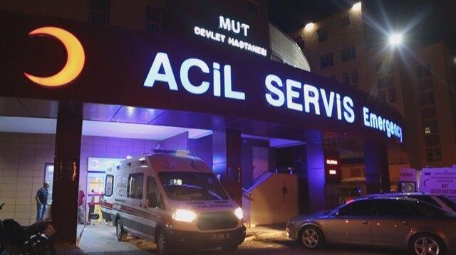 Mersin'de silahlı kavga: 1 ölü, 1 yaralı.