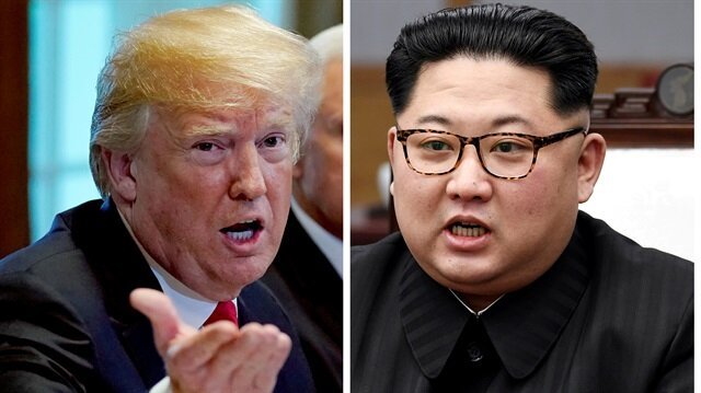 U.S. President Donald Trump and North Korean leader Kim jong
