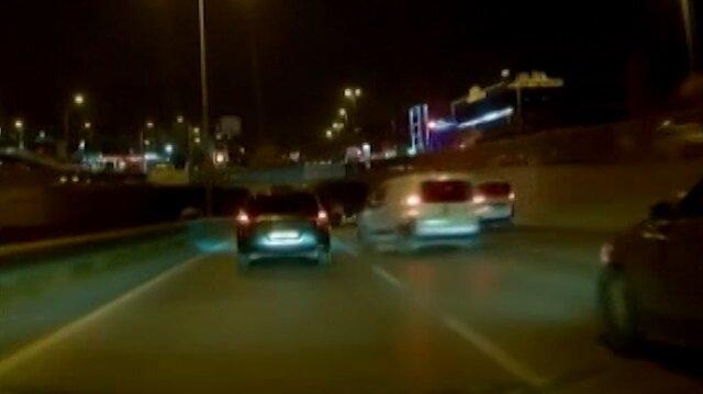 Dikkatsiz Doblo sürücüsü makas atmaya kalkarsa...